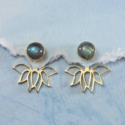 Lotus Perfection Earrings