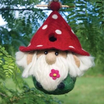 Garden Gnome Birdhouse