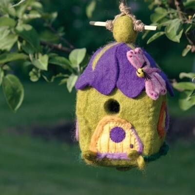 Pixie House Birdhouse
