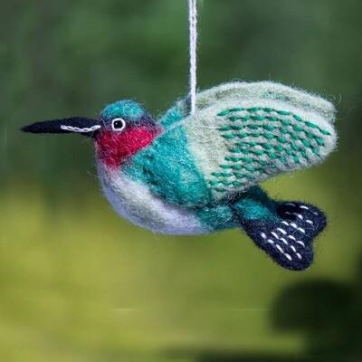 Hummingbird Woolie Bird