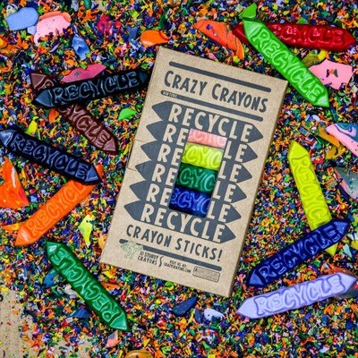 Recycle Solid Color Stix 10 Pack