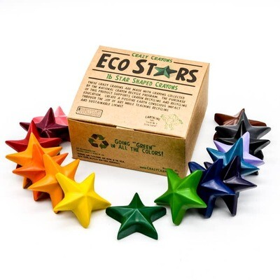 Box 20 Eco Stars Crayon