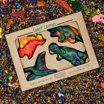 Dinosaur Crayon Set