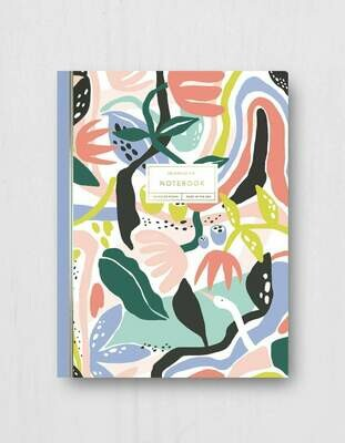 Fantastic Garden Notebook - 120 Pages