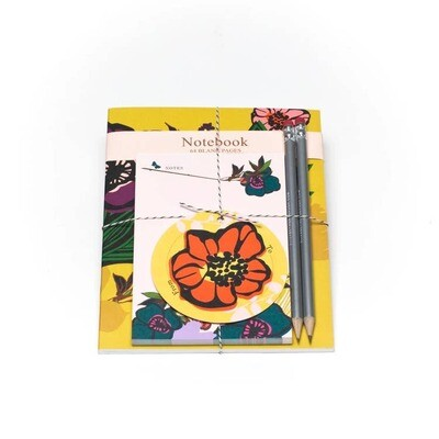 Bloom Notebook And Pad Set