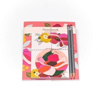 Garden Notebook And Pad Set