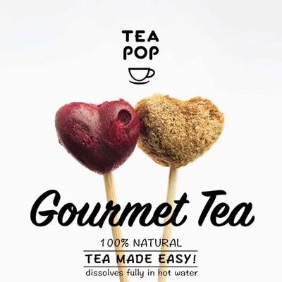 British Tea Pop Wild Berry Punch Herbal Individual Pop
