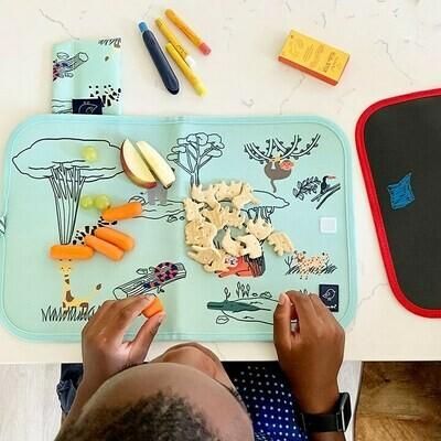 Safari Mat Doodle It & Go