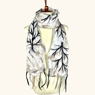 Merino Wool Handmade Arkansas Winter Scarf