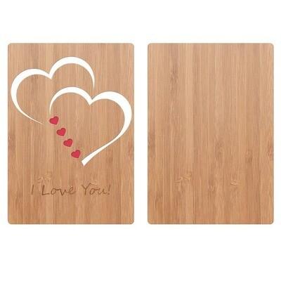 Classic Hearts Love Card