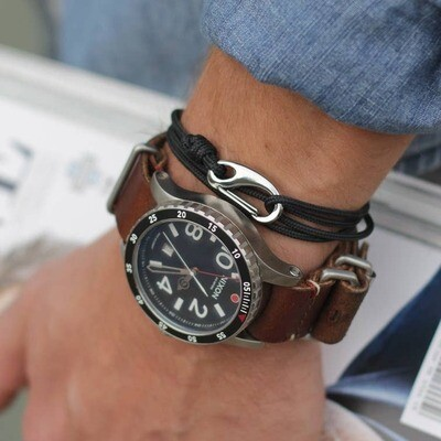 Anchored Tactical Cord Bracelet