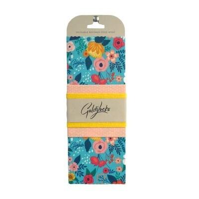 Compostable Food Wrap (3) Floral