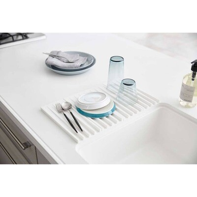 Foldable Drainer Tray White