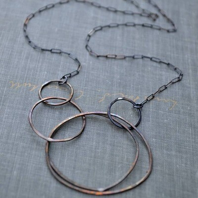 Multi Circle Necklace