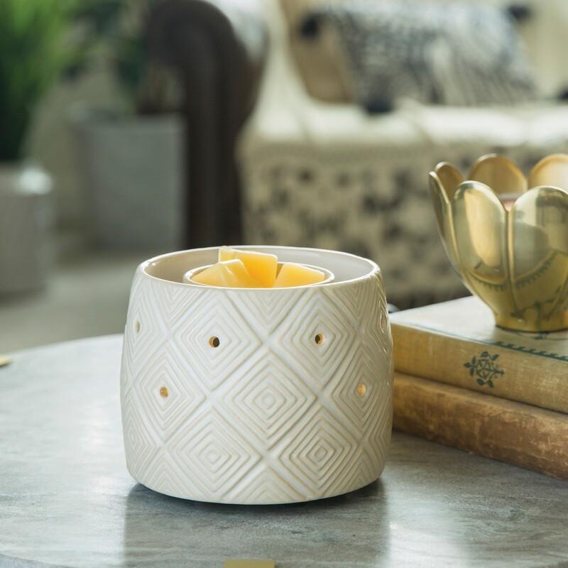 Fan Fragrance Warmer Geometric