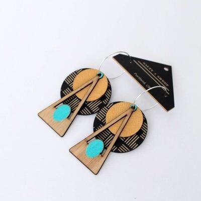 Deco Earrings Geo