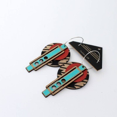 Frank Lloyd Wright Southwestern Earrings