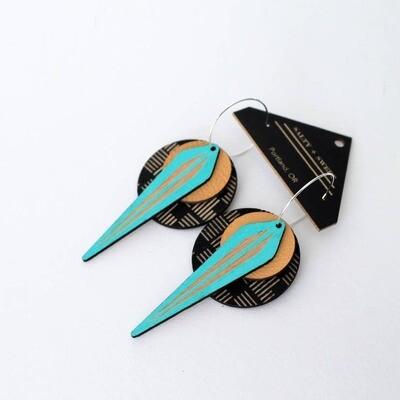 La Naja Earrings Geo