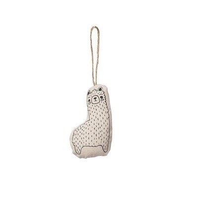 Handmade Every Day Llama Ornament