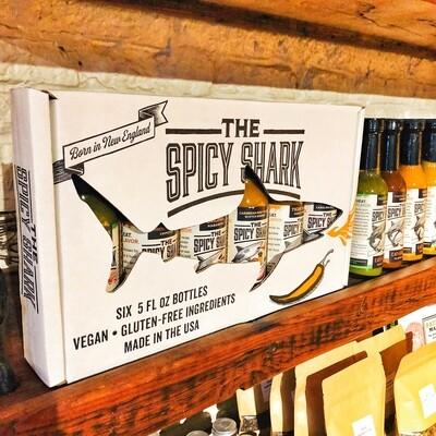 Spicy Shark Hot Sauce Gift Box