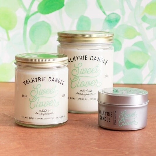 Sweet Clover Candle