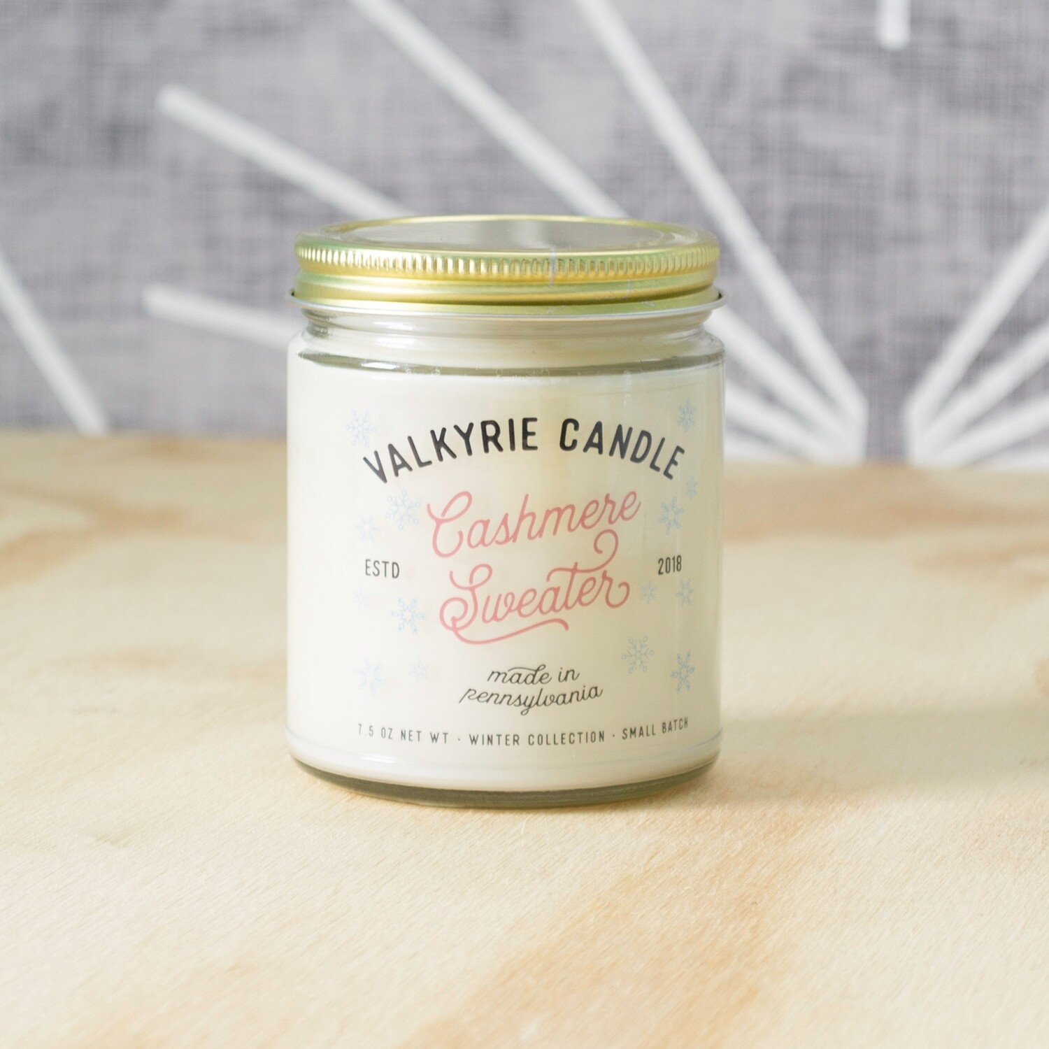 Cashmere Sweater Candle