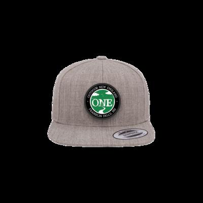 Patch Flat Brim Hat