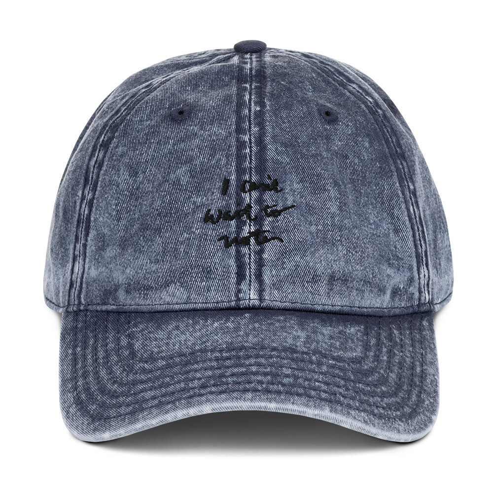 Signature Vintage Cotton Twill Cap