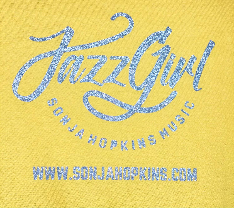 JazzGirl Yellow Bling Tee