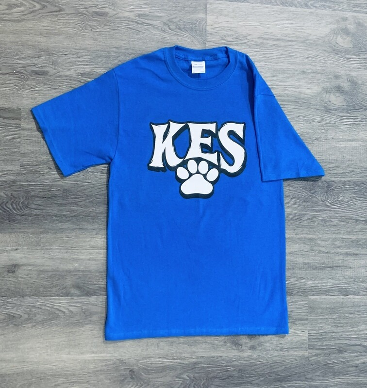 Youth KES Paw Print Short Sleeve