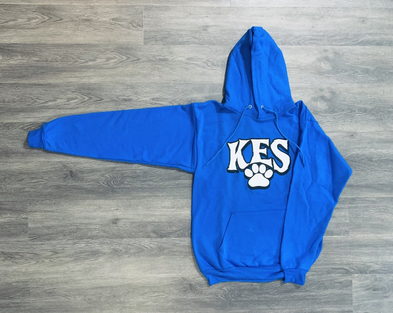 Adult KES Paw Print Pullover Hoodie