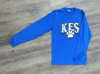 Adult KES Paw Print Long Sleeve