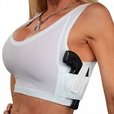 Concealed Carry Midriff Tank Top