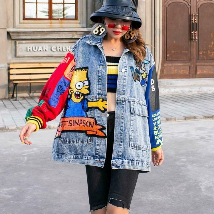 Bart Simpson Jean Jacket