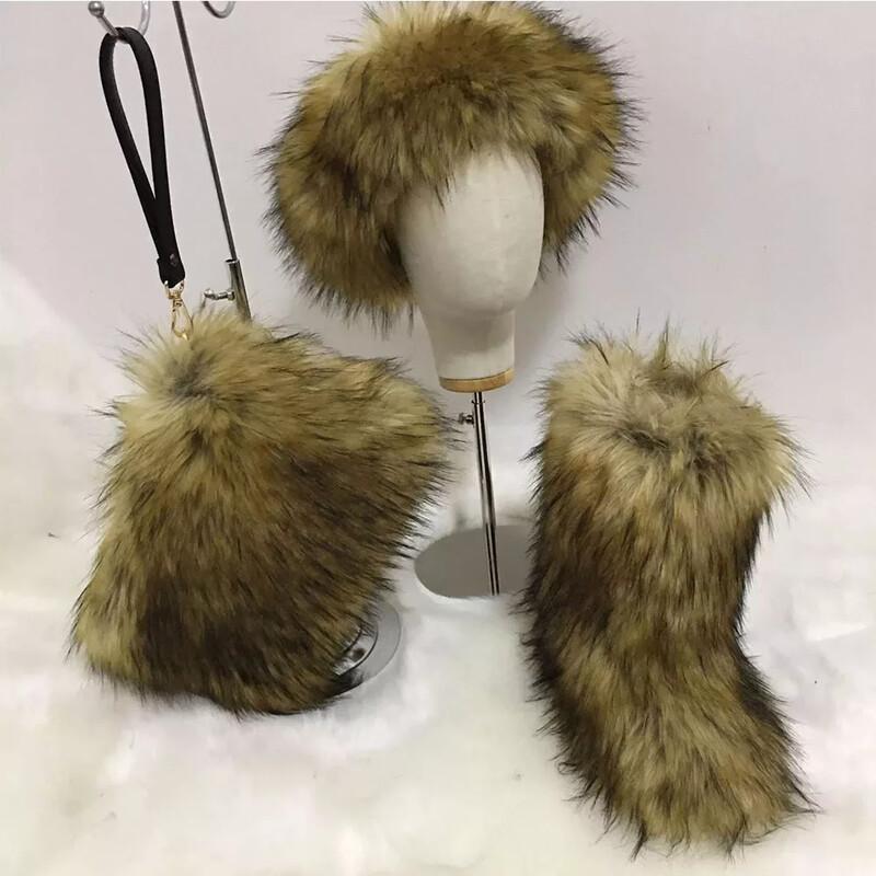 MidHigh Fur Boots