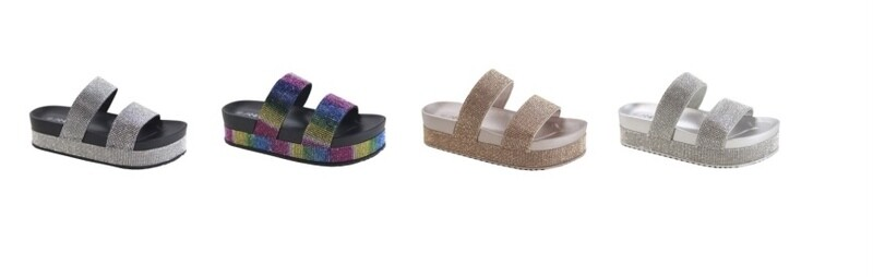 Too Blinged Sandals
