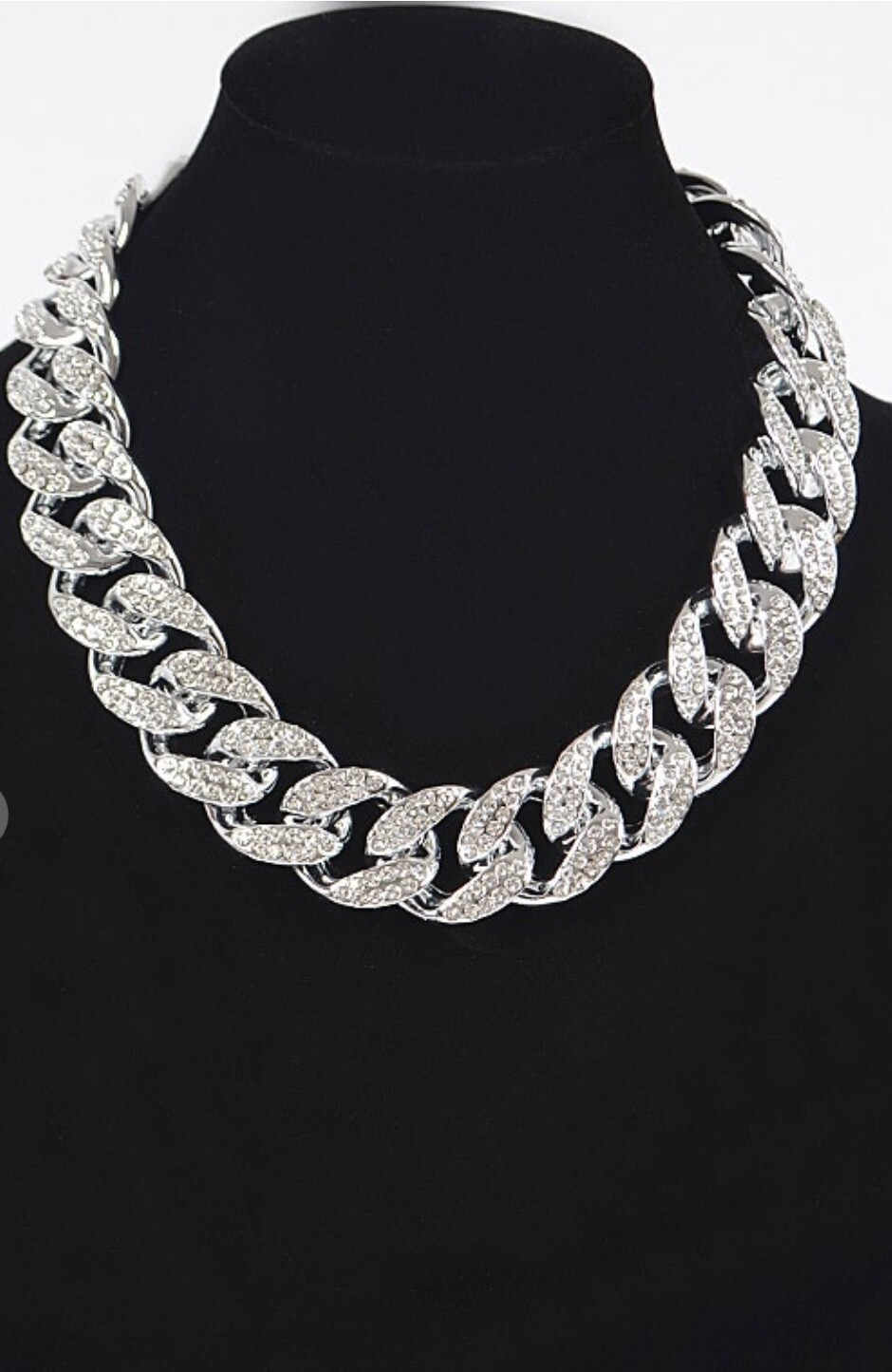 Stone Oversized Link Chain
