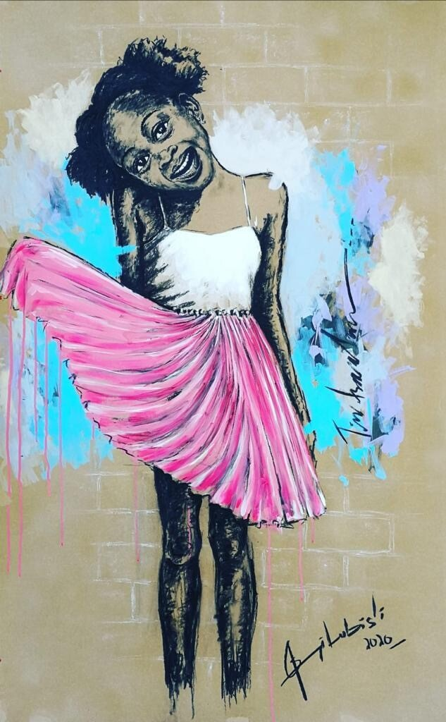 Semi Lubisi - Pink Dress