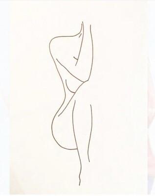 Leila Batha - Figure Study 3