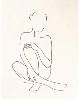 Leila Batha -Figure Study
