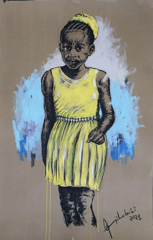 Semi Lubisi - Yellow Dress