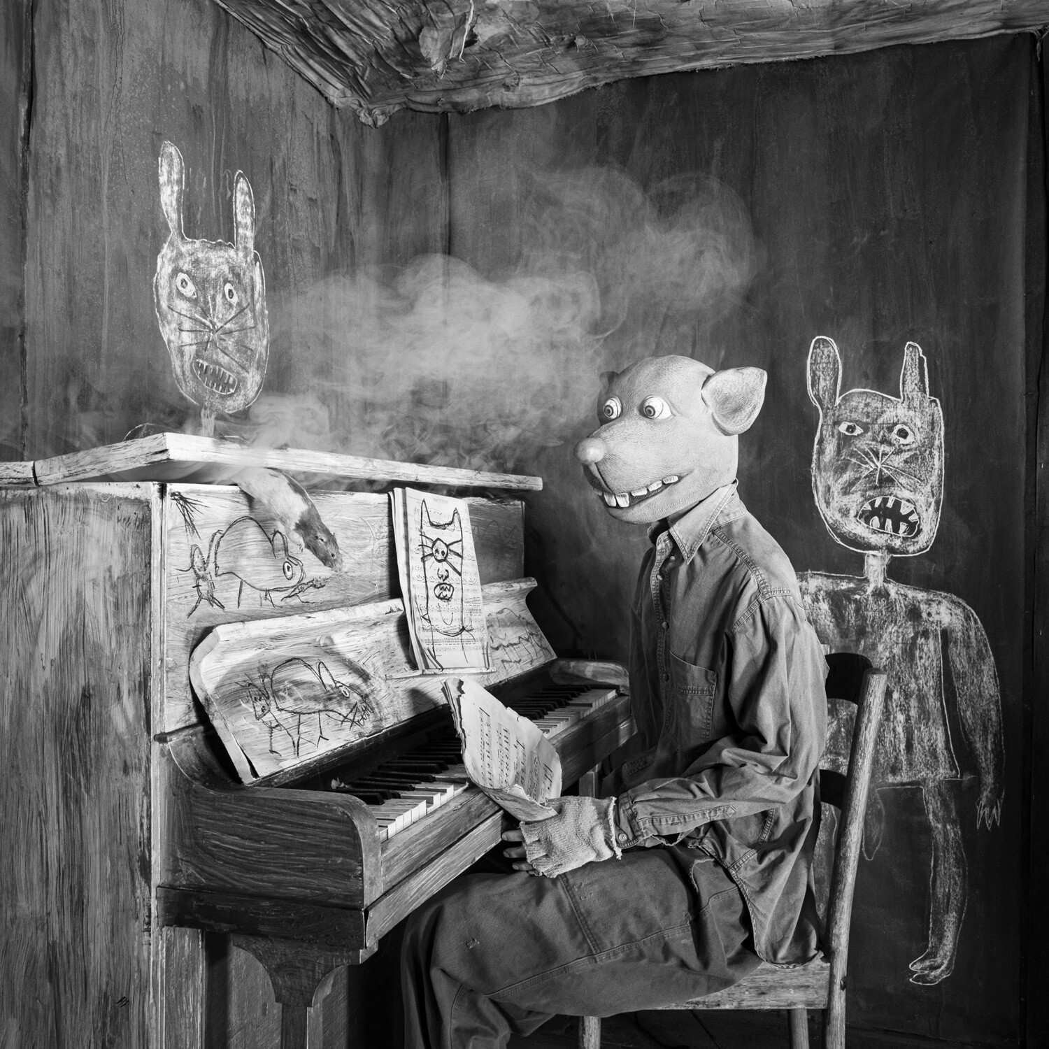Roger Ballen Smoked Out