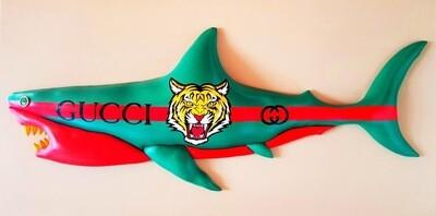 Enrico Cecotto- Gucci shark