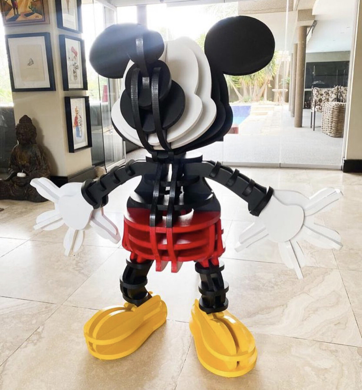 Fringe Wooden Mickey