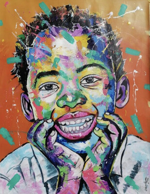 Zakes Msane - Smiling