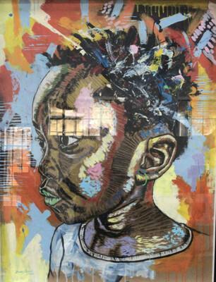 Zakes Mzane - Asanda's gaze