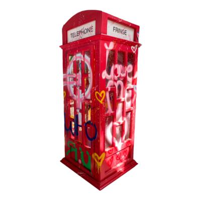Fringe - London telephone booth