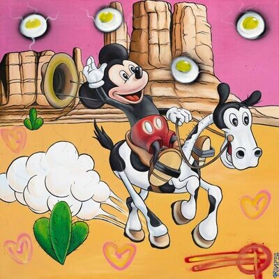 Mickey loves Horses By Fringe