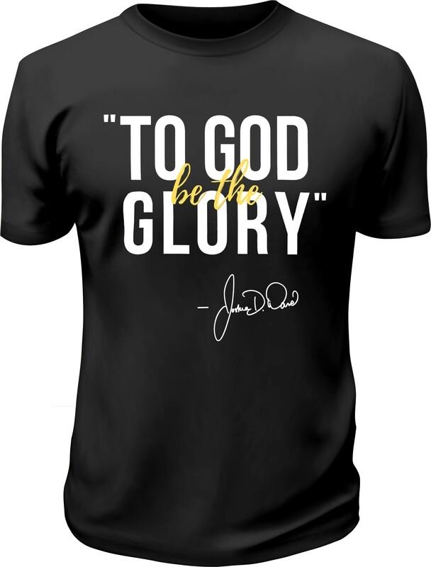 First Pastoral Anniversary Shirt (Black)