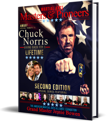 Martial Arts Masters & Pioneers Biography Book: Hardcover 2nd Edition